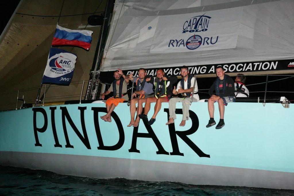 """Океанская практика  на яхте """"Russian Yachting Association RYA.RU"""" 7500 миль."""