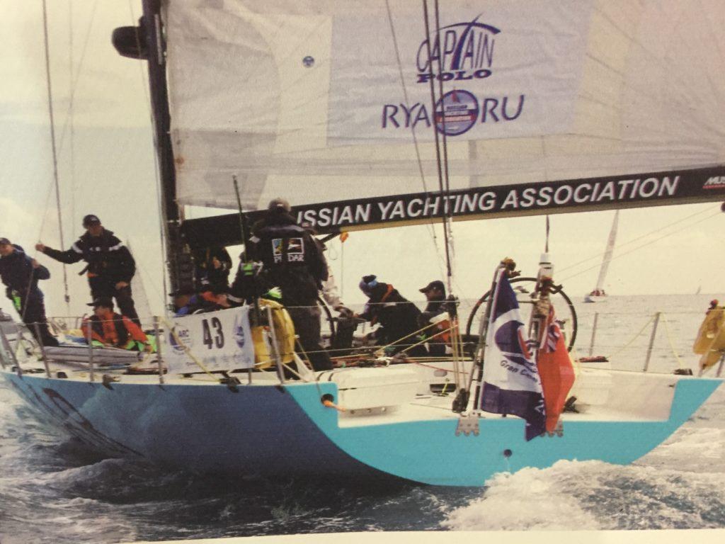 Yacht Russian Yachting Association RYA.RU Капитан Дальнего Плавания